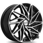 8x18 5x160 ET50 CTR65.1 Alu 1AV ZX10T Black Polished 818160550ZX10BP505160