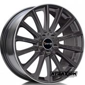 8x18 5x112 ET35 CTR66,6 Alu Ac-m07  (Avus) Anthracite Polished Lip M07080185112035666-0