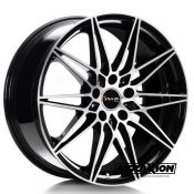 8,5x19 5x112 ET30 CTR66,7 Alu Ac-mb5  (Avus) Black Polished B05085195112030667D0 (DED BMW)