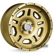 8.5x17 5x127 ET10 CTR82.6 Alu Style 1440 Lozano (Duratrail) Gold DT50585G Tüv