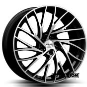 8x19 5x120 ET30 CTR72.6 Alu Enigma  (Gmp) Black Polished 101072074
