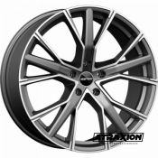 9x20 5x112 ET25 CTR66,5 Alu Gunner  (Gmp) Mat Anthracite Polished 202000755 (DED AUDI)