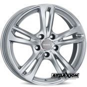 8x18 5x112 ET39 CTR66.45 Alu Mak Emblema Silver (DED:Audi ) F8080EBSI39WS2X