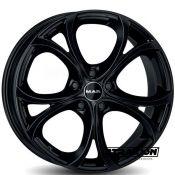 8.5x19 5x110 ET30 CTR65.1 Alu Mak Lario Gloss Black (DED:Alfa Romeo ) F8590LAGB30LG1X