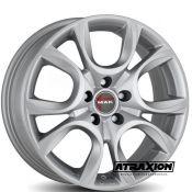 6x15 4x100 ET43 CTR56.6 Alu Torino  (Mak) Silver F6050ONSI43CGPX (DED ALFA R., FIAT)