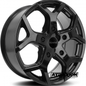 7.5x18 5x160 ET54 CTR65.1 Alu Romac Cobra Gloss Black RMCOB H8665GB