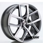 8x19 5x112 ET45 CTR57,1 Alu Sp45  (Spath) Anthracite Polished 1454 (DED VW)