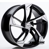 8,5x19 5x112 ET35 CTR66,5 Alu Sp46  (Spath) Black Polished 1380 (DED AUDI)