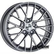 8.5x20 5x130 ET51 CTR71.6 Alu Mak Monaco Gun Met-Mirror Face (DED:Porsche ) F8520MFQM51KY4