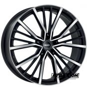10x22 5x112 ET26 CTR66.45 Alu Mak Union Black Mirror (DED:Audi ) F1022UNBM26WS1X
