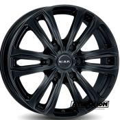 8x18 6x130 ET53 CTR84.1 Alu Mak Safari 6 Gloss Black F8080AF6GB53M3