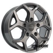 7.5x18 5x160 ET54 CTR65.1 Alu Romac Cobra Grey RMCOB H8665G