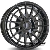 7.5x18 5x160 ET50 CTR65.1 Alu Ruuud Ridgeback Glossy Black (DED:Ford ) 18178