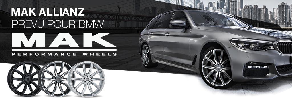MAK Allianz prevu pour  BMW