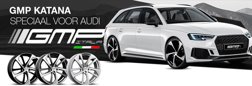 GMP KATANA gemaakt voor Audi