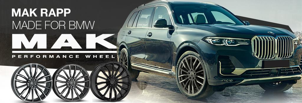 MAK wheels for BMW