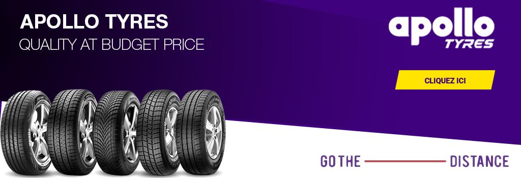 Now Available Apollo Tyres