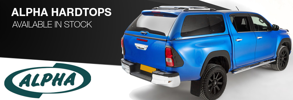Alpha Hardtops Available In Stock