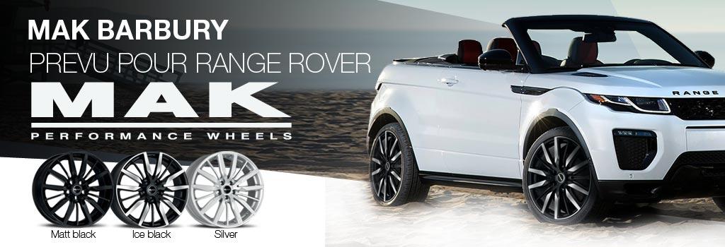 MAK Barbury: Jantes unique pour  Land Rover, Range Rover